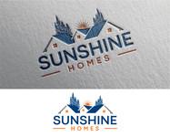 Sunshine Homes Logo - Entry #184