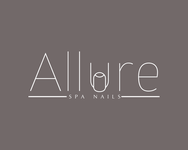 Allure Spa Nails Logo - Entry #41