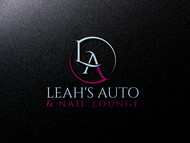 Leah's auto & nail lounge Logo - Entry #69