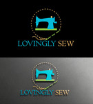 Lovingly Sew Logo - Entry #23