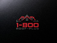 1-800-Roof-Plus Logo - Entry #44