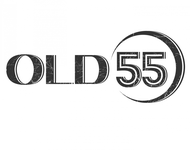 """""""OLD 55"""" - mid-century vintage furniture and wares store Logo - Entry #120"""