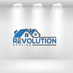Revolution Roofing Logo - Entry #520