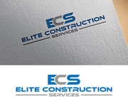 Elite Construction Services or ECS Logo - Entry #188