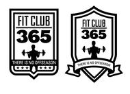 Fit Club 365 Logo - Entry #17