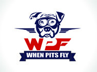 When Pits Fly Logo - Entry #9