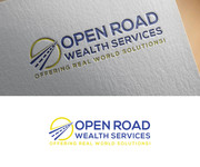 "Open Road Wealth Services, LLC  (The ""LLC"" can be dropped for design purposes.) Logo - Entry #38"
