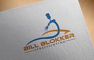 Bill Blokker Spraypainting Logo - Entry #48