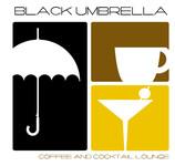 Black umbrella coffee & cocktail lounge Logo - Entry #114