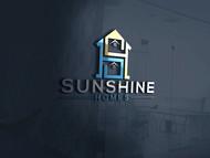 Sunshine Homes Logo - Entry #246
