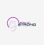 SHOW UP STRONG  Logo - Entry #141