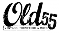 """""""OLD 55"""" - mid-century vintage furniture and wares store Logo - Entry #102"""