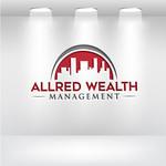 ALLRED WEALTH MANAGEMENT Logo - Entry #460
