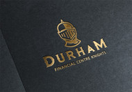 Durham Financial Centre Knights Logo - Entry #35