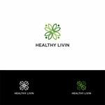 Healthy Livin Logo - Entry #495