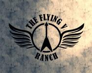 The Flying V Ranch Logo - Entry #4