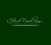 iHireFood.com Logo - Entry #12