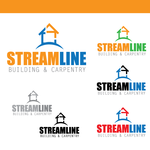 STREAMLINE building & carpentry Logo - Entry #16