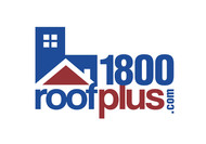 1-800-roof-plus  , i am also going to be using 1800roofplus.com for materials Logo - Entry #18