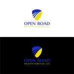 "Open Road Wealth Services, LLC  (The ""LLC"" can be dropped for design purposes.) Logo - Entry #4"