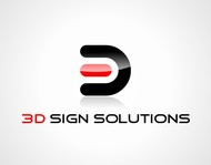 3D Sign Solutions Logo - Entry #136