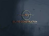 Elite Construction Services or ECS Logo - Entry #279