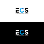 Elite Construction Services or ECS Logo - Entry #67