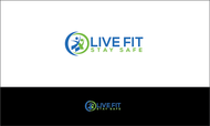 Live Fit Stay Safe Logo - Entry #2