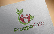 Frappaketo or frappaKeto or frappaketo uppercase or lowercase variations Logo - Entry #18