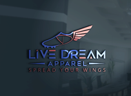 LiveDream Apparel Logo - Entry #442