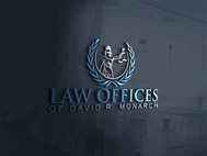 Law Offices of David R. Monarch Logo - Entry #49