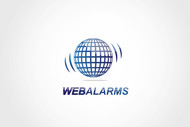 Logo for WebAlarms - Alert services on the web - Entry #194