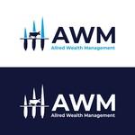 ALLRED WEALTH MANAGEMENT Logo - Entry #606