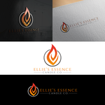 ellie's essence candle co. Logo - Entry #119