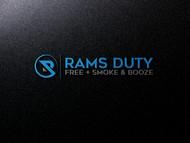 Rams Duty Free + Smoke & Booze Logo - Entry #49