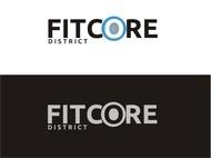 FitCore District Logo - Entry #38