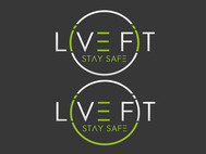 Live Fit Stay Safe Logo - Entry #36
