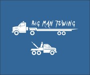 Big Man Towing Logo - Entry #77