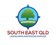South East Qld Landscaping and Fencing Supplies Logo - Entry #104
