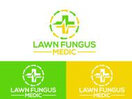 Lawn Fungus Medic Logo - Entry #89