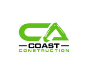 CA Coast Construction Logo - Entry #93