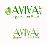 AVIVA Glow - Organic Spray Tan & Lash Logo - Entry #4