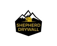 Shepherd Drywall Logo - Entry #349