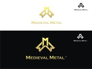 Medieval Metal Logo - Entry #45