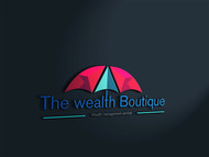 the wealth boutique Logo - Entry #68