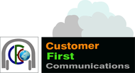 Customer First Communications Logo - Entry #63