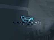 Elite Construction Services or ECS Logo - Entry #47