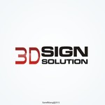 3D Sign Solutions Logo - Entry #117