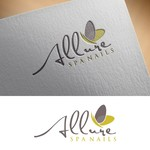 Allure Spa Nails Logo - Entry #141