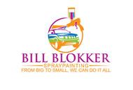 Bill Blokker Spraypainting Logo - Entry #124